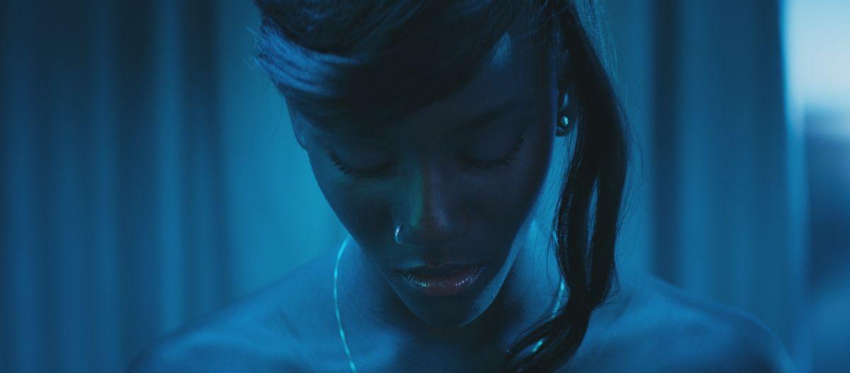 Diamante nero: Assa Syll in un suggestivo primo piano tratto dal film