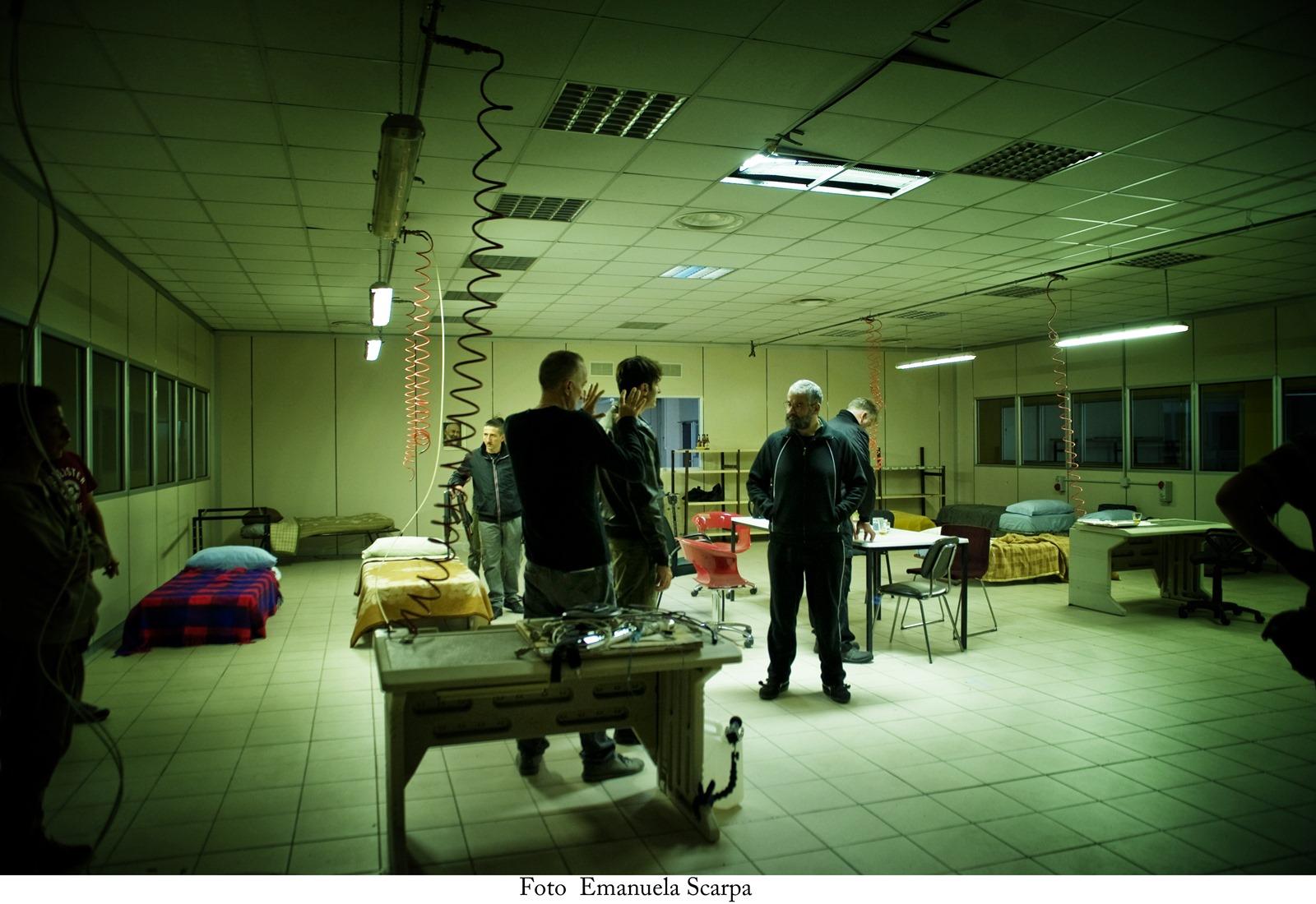 Gomorra - La serie: uno scatto realizzato sul set dei nuovi episodi