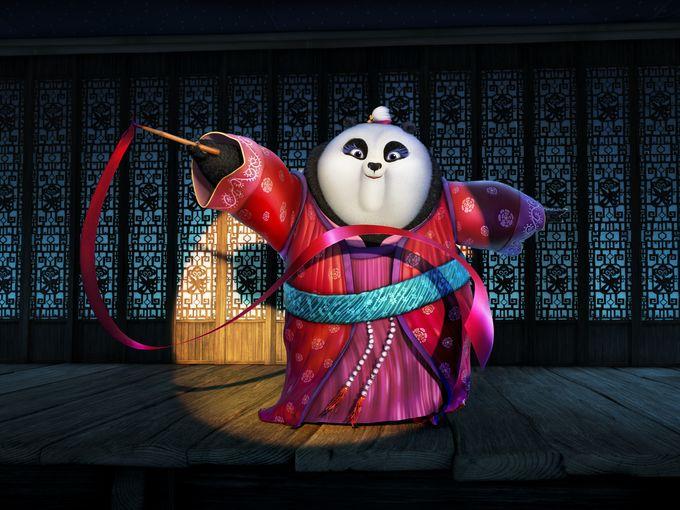 Kung Fu Panda 3: un nuovo personaggio del film