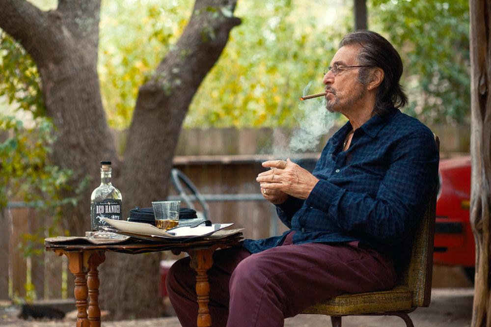 Manglehorn: Al Pacino in una scena del film di David Gordon Green