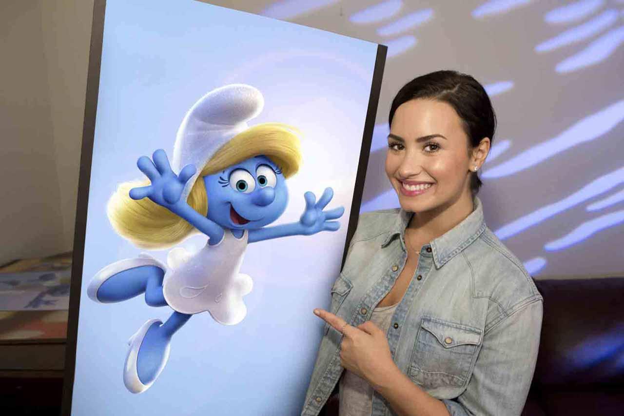 Get Smurfy: Demi Lovato è la voce di Puffetta