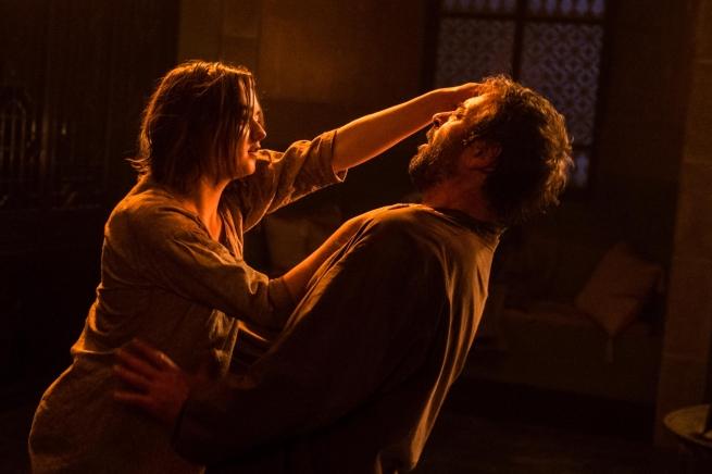 Il trono di spade: Maisie Williams interpreta Arya Stark in una scena dell'episodio Mother's Mercy