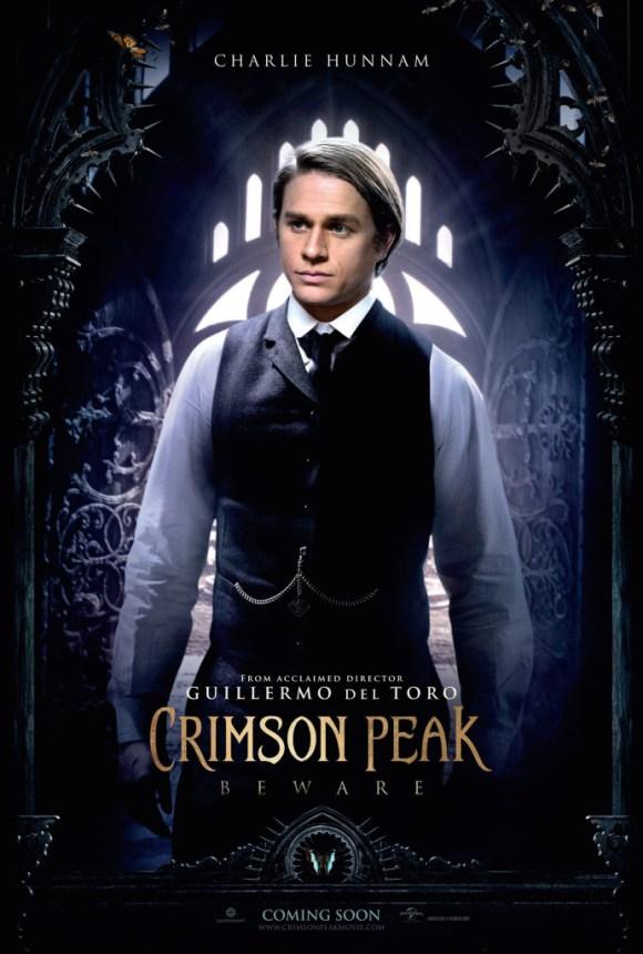 Crimson Peak: il character poster di Charlie Hunnam