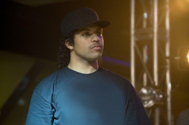 O'Shea Jackson Jr. in un'immagine del film Straight Outta Compton