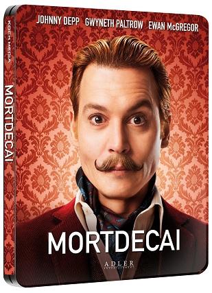 La cover del blu-ray di Mortdecai