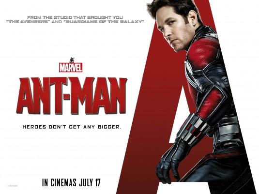Ant-Man: il quad poster del film