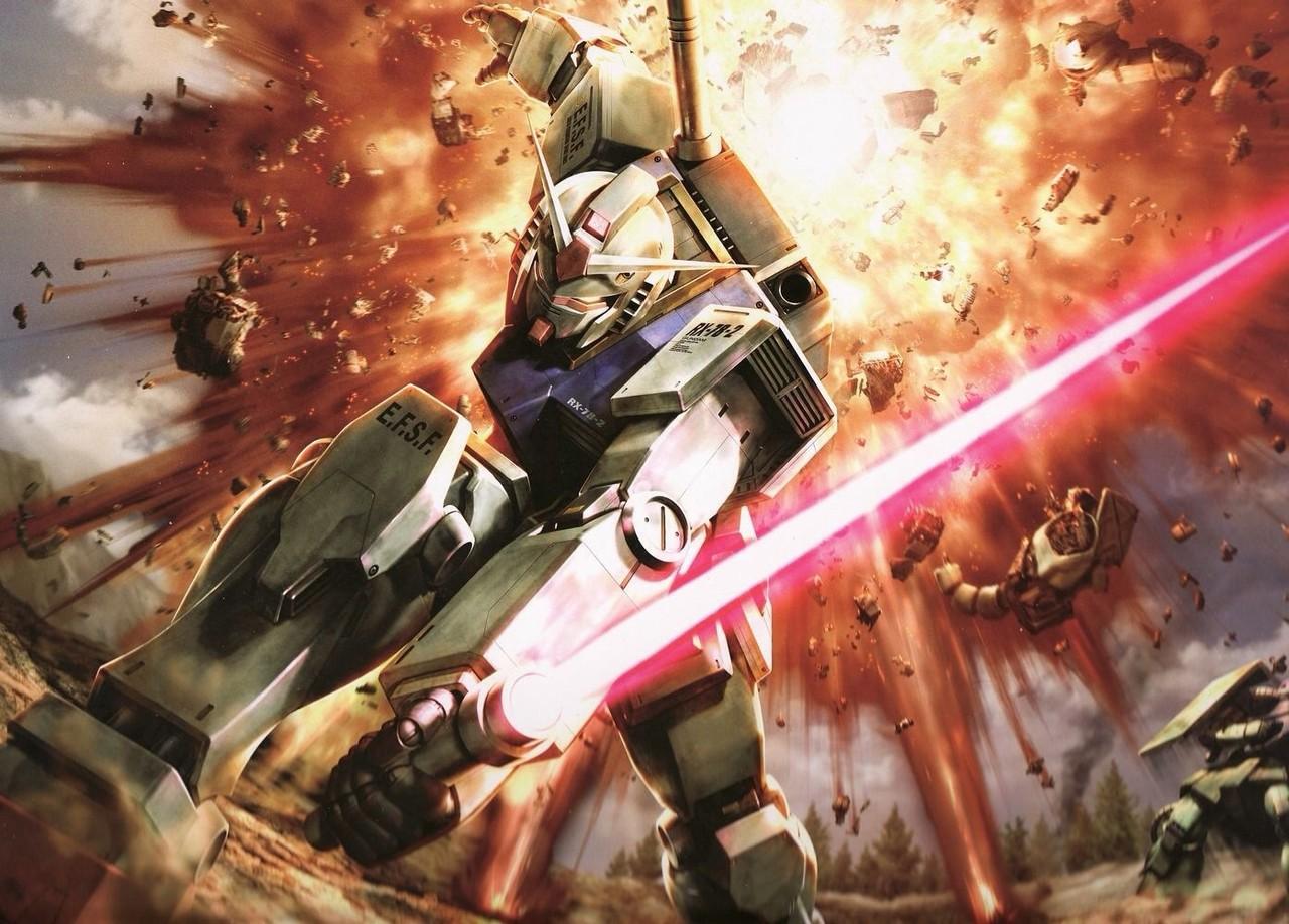 Mobile Suit Gundam - The Origin I - Blue-Eyed Casval: una scena del film