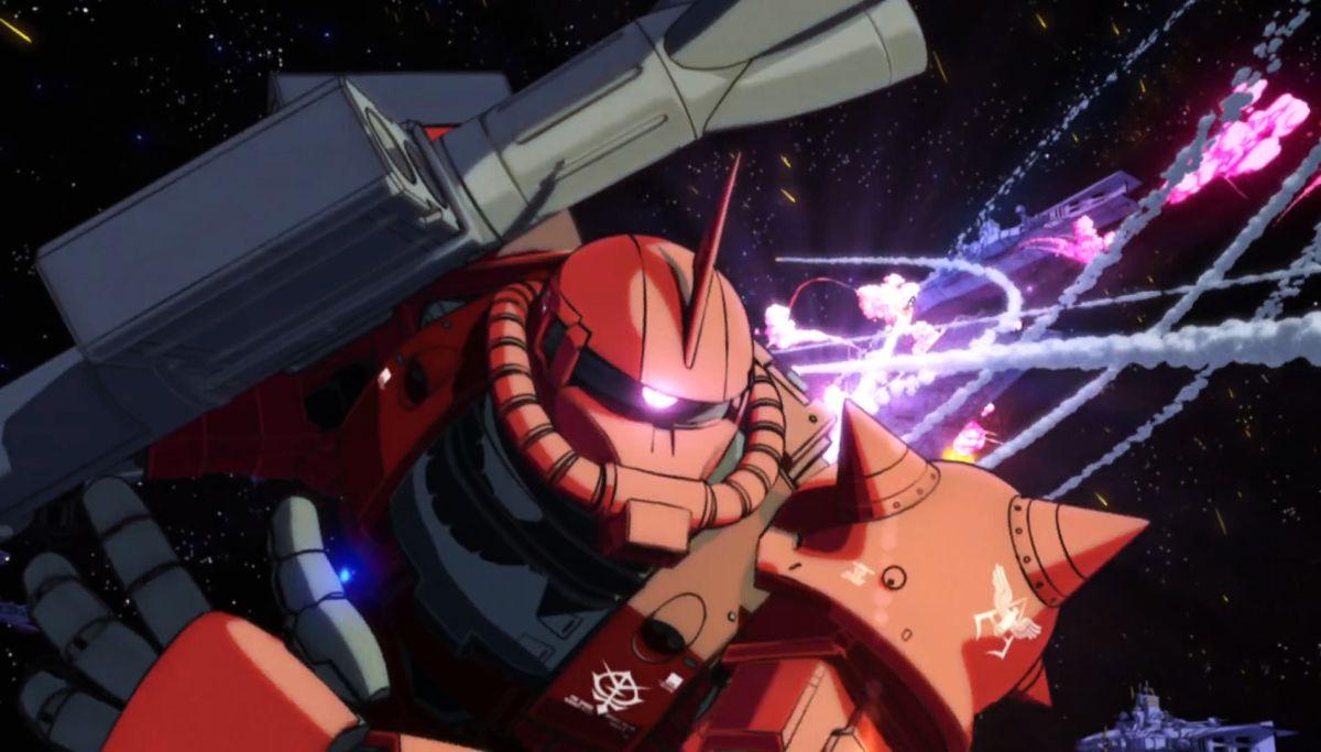 Mobile Suit Gundam - The Origin I - Blue-Eyed Casval: un'immagine del film animato giapponese