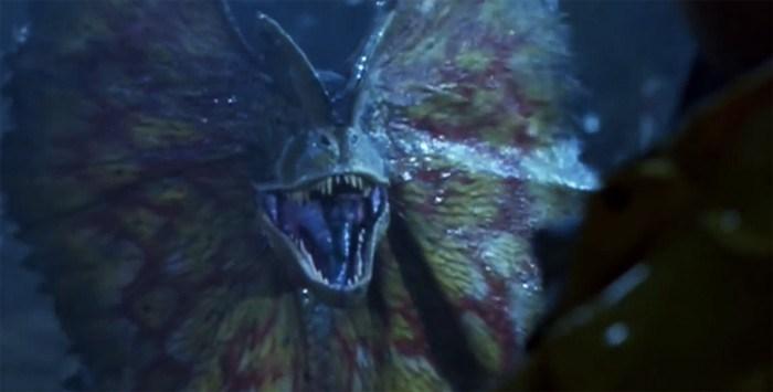 Jurassic Park: il dilofosauro