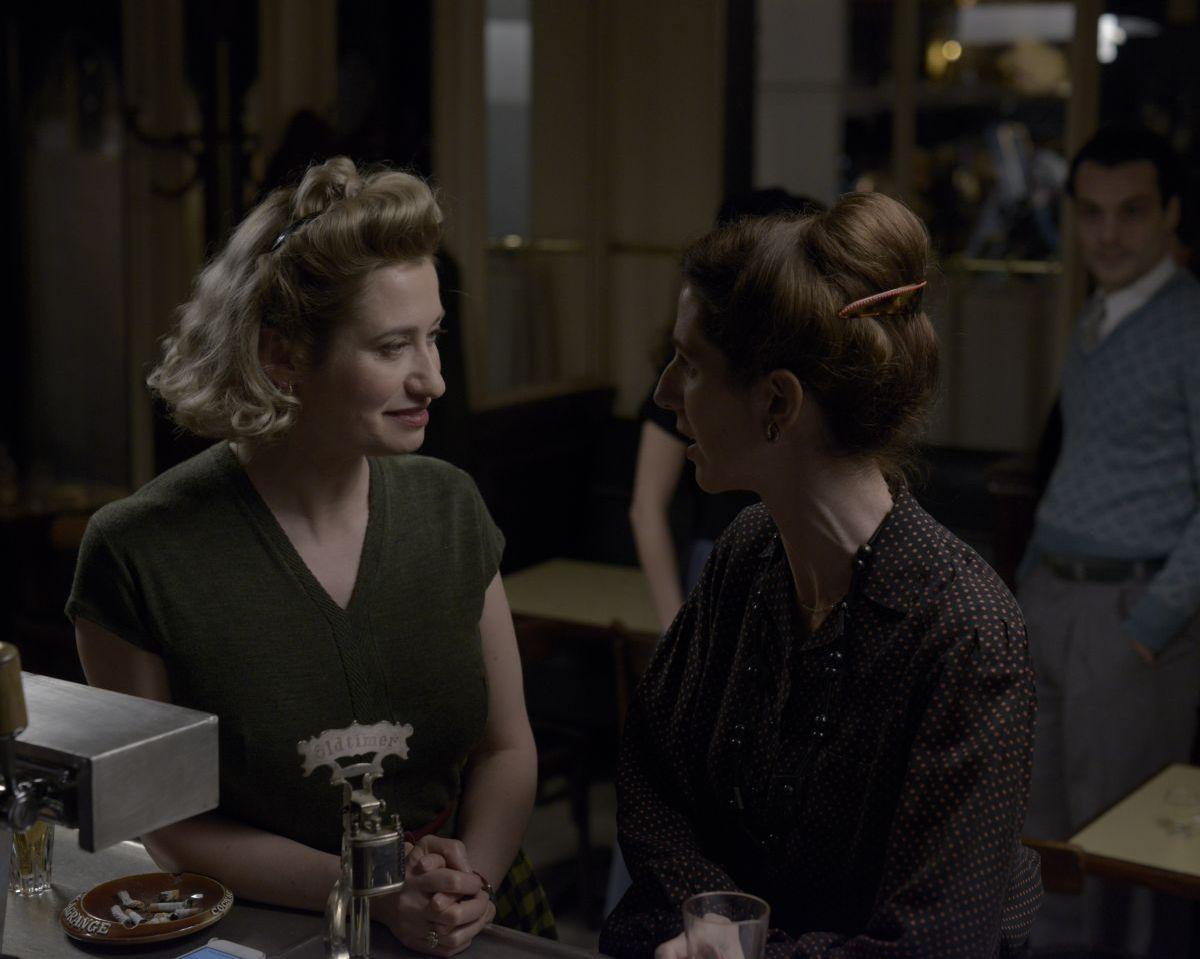 Violette: Emmanuelle Devos in una scena del film con Sandrine Kiberlain
