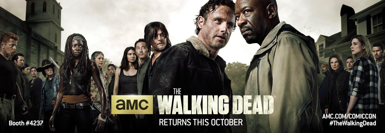 The Walking Dead: il primo banner promozionale della sesta stagione