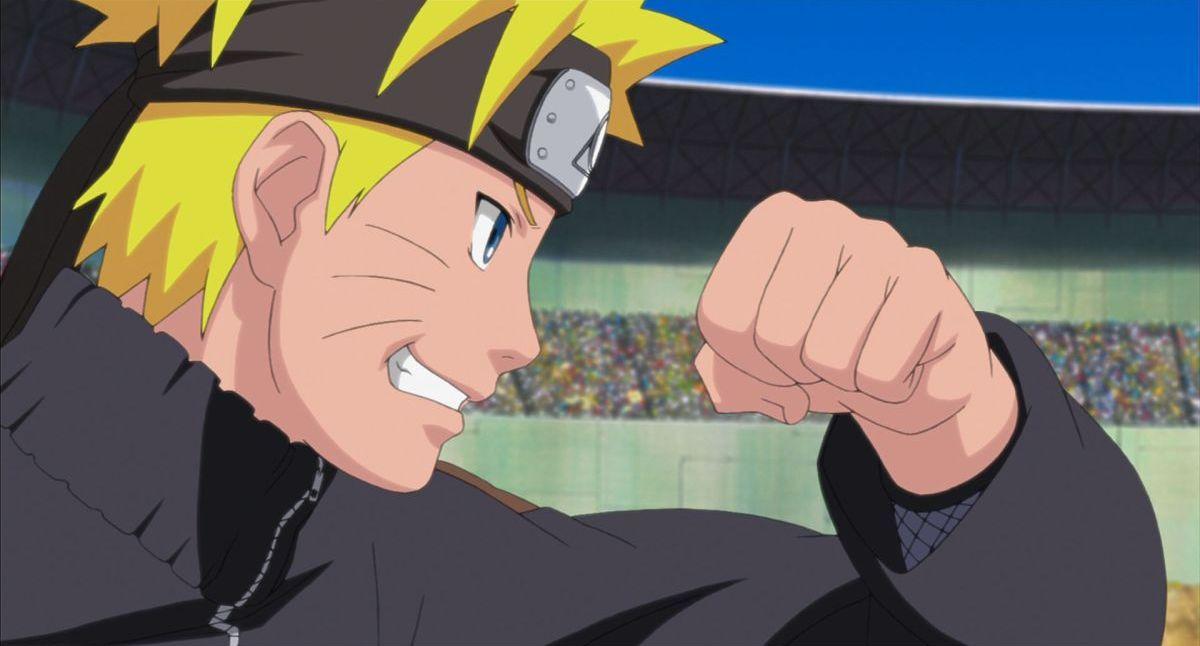 Naruto - Il film: La prigione insanguinata, una scena tratta dal film