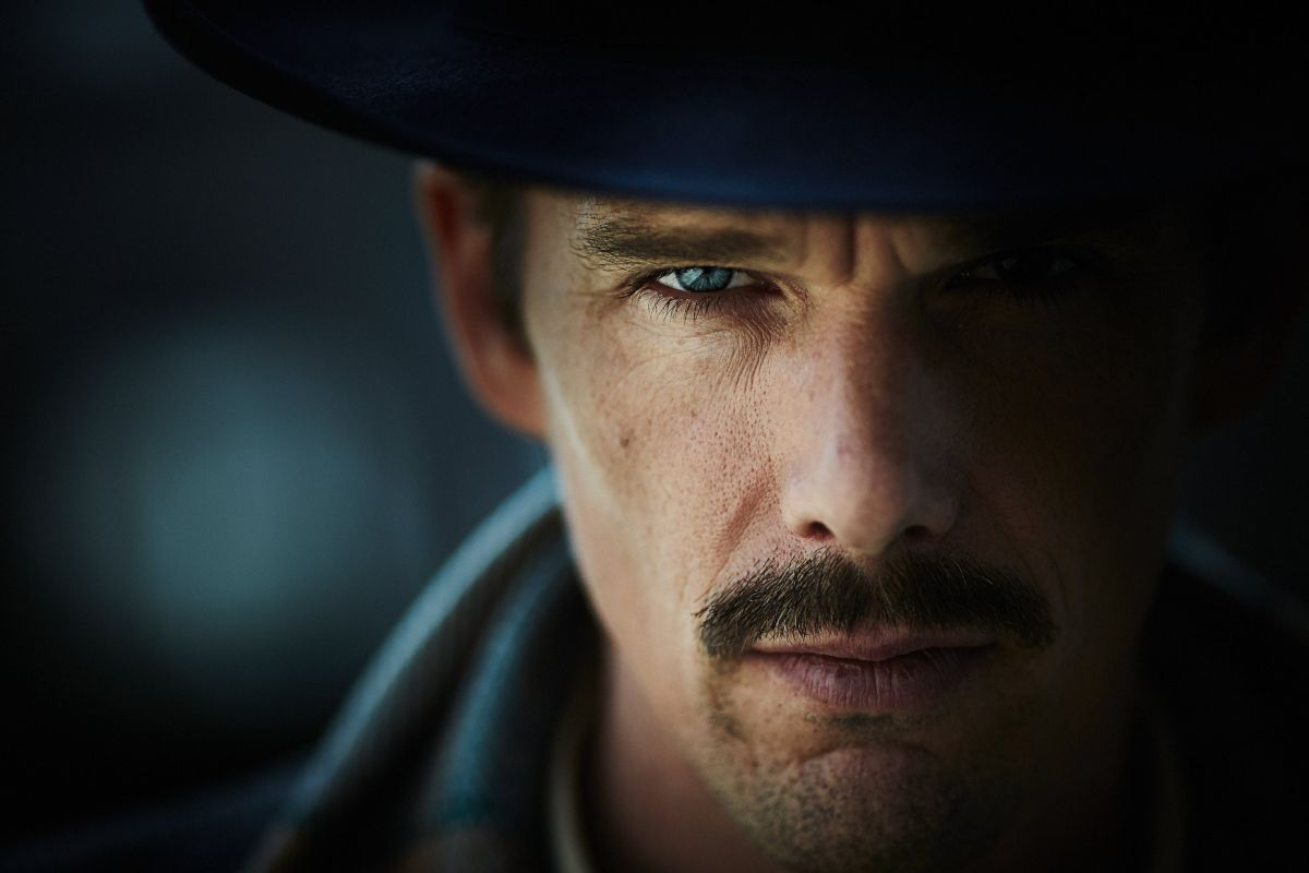 Predestination: Ethan Hawke in un primo piano tratto dal film