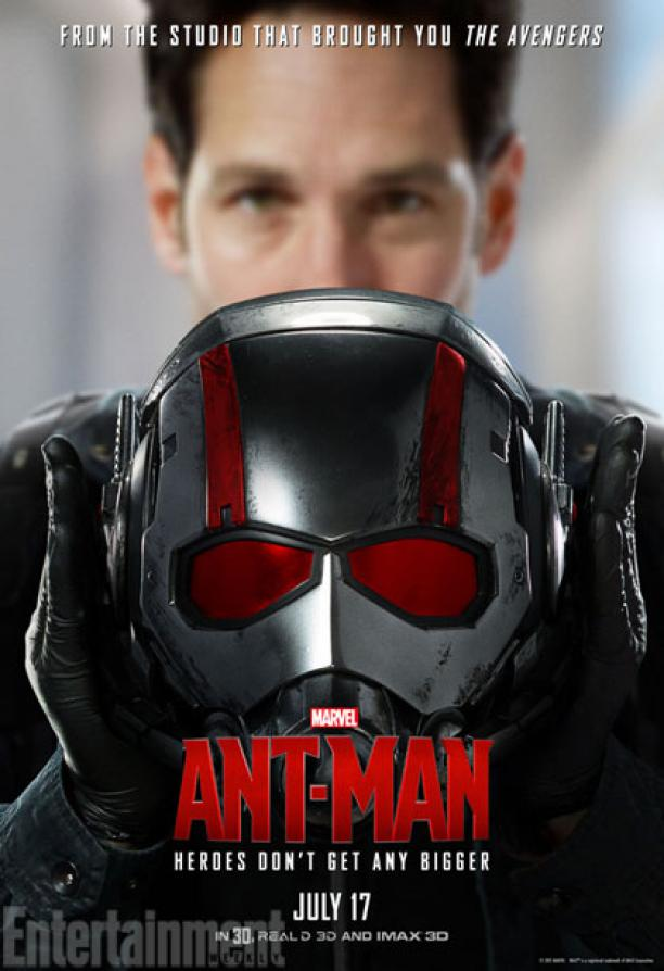 Ant-Man: il character poster del protagonista Paul Rudd