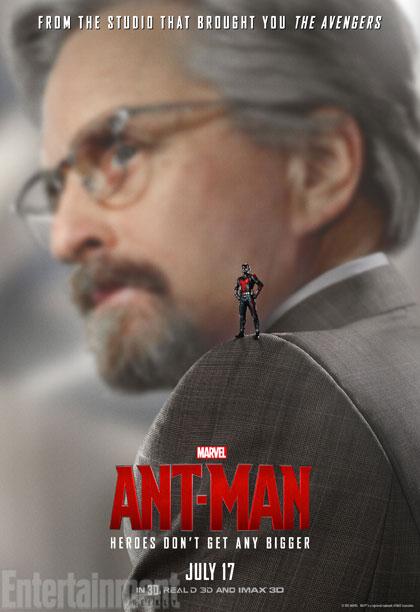 Ant-Man: il character poster di Michael Douglas
