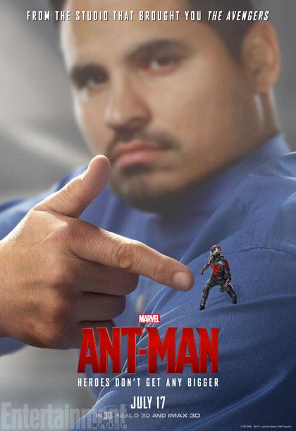 Ant-Man: il character poster di Michael Peña