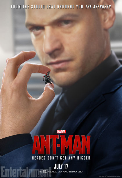 Ant-Man: il character poster di Corey Stoll