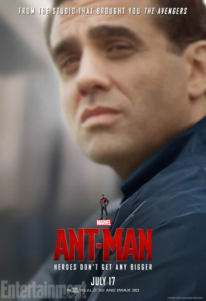 Ant-Man: il character poster di Bobby Cannavale