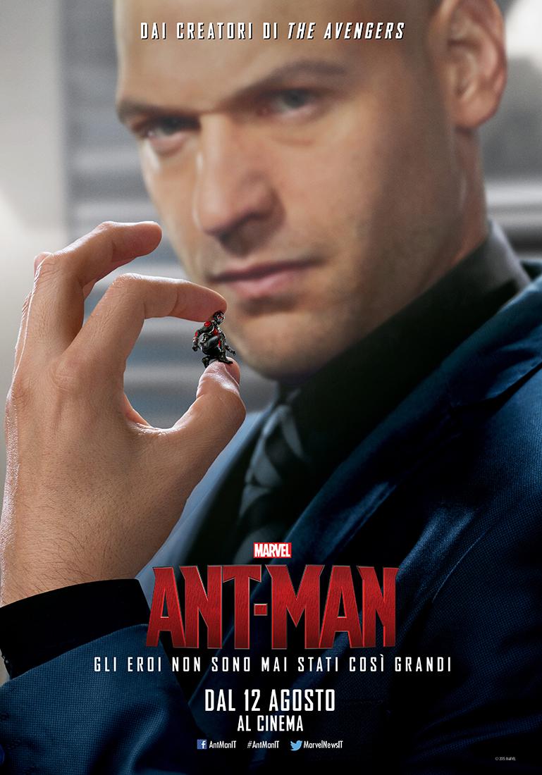 Ant-Man: Corey Stoll nel character poster italiano di Darren Cross