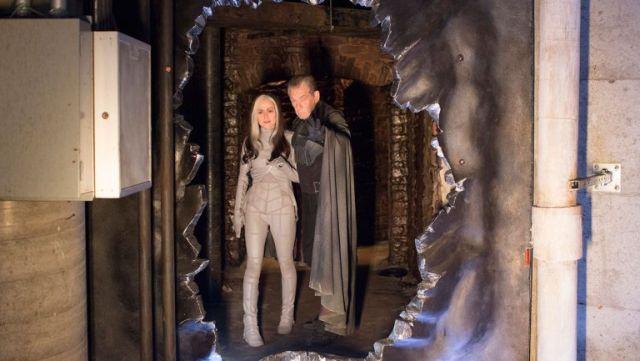 X-Men: Giorni di un futuro passato: Anna Paquin e Ian McKellen in una foto della Rogue Cut
