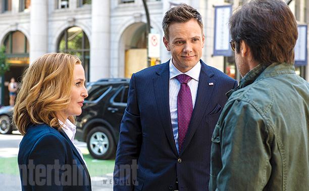 X-Files: Gillian Anderson, Joel McHale e David Duchovny