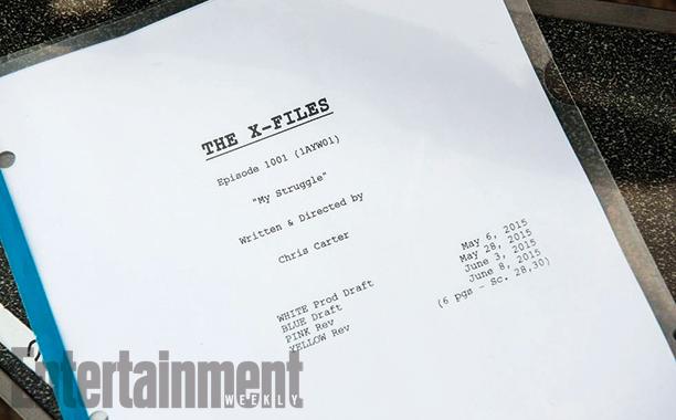X-Files: il copione del primo episodio