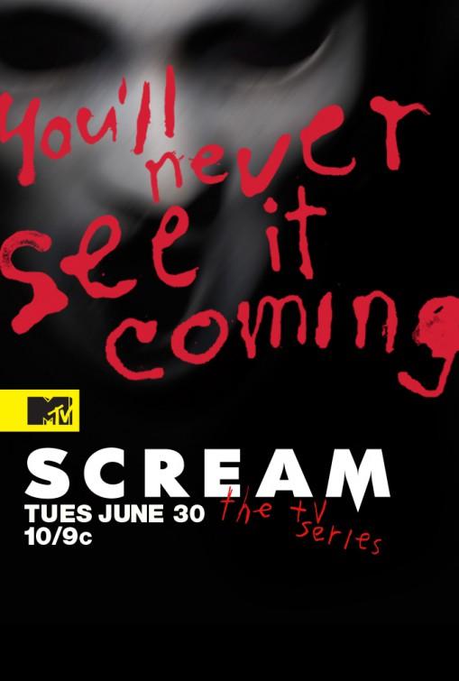 Scream: la locandina della serie