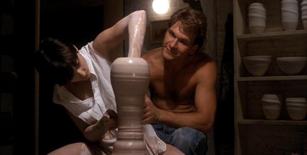 Ghost: una celebre scena con Demi Moore e Patrick Swayze