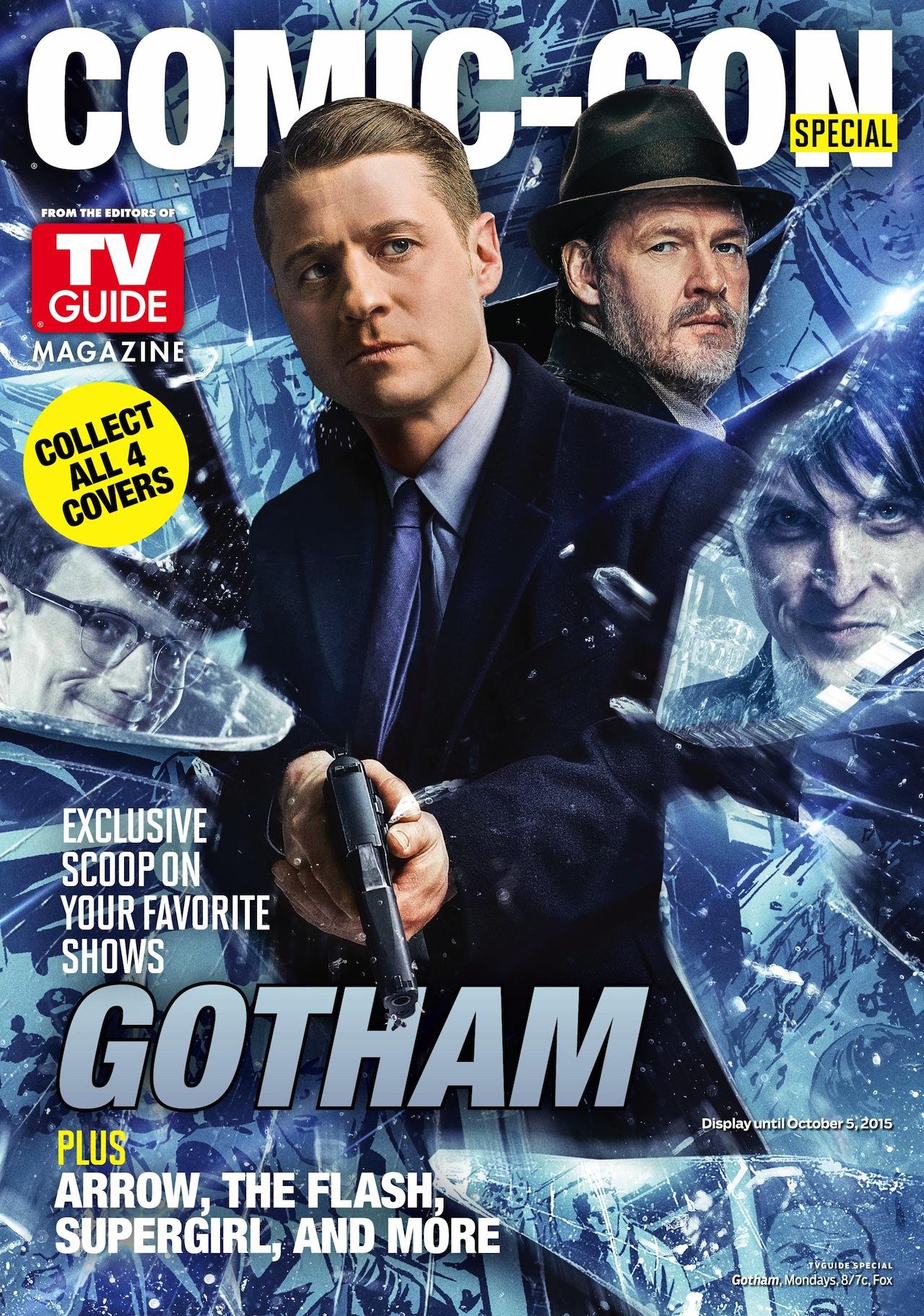 Gotham: la copertina di TVGuide realizzata per il Comic-Con di San Diego