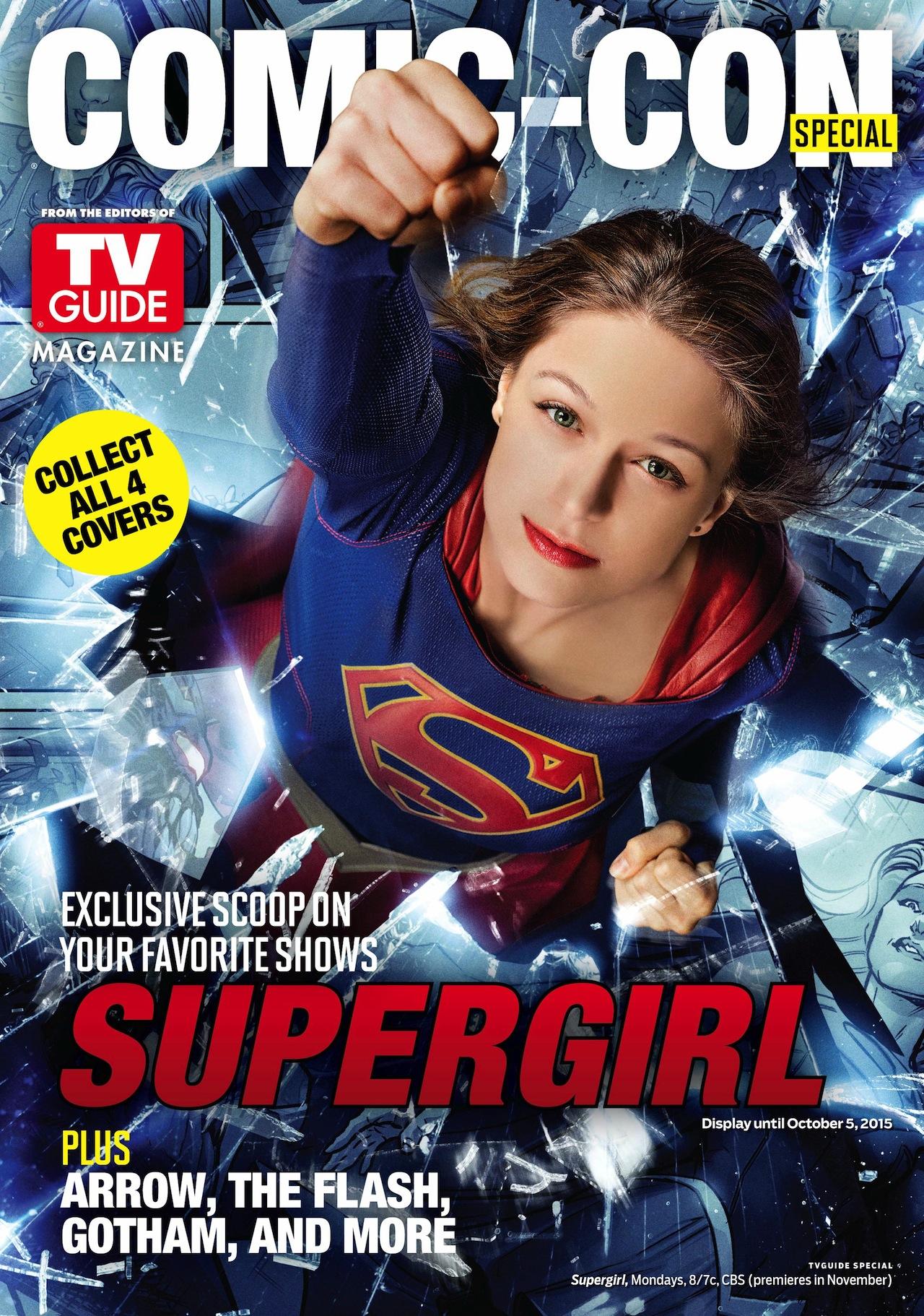 Supergirl: la copertina del magazine TVGuide nell'edizione speciale del Comic-Con