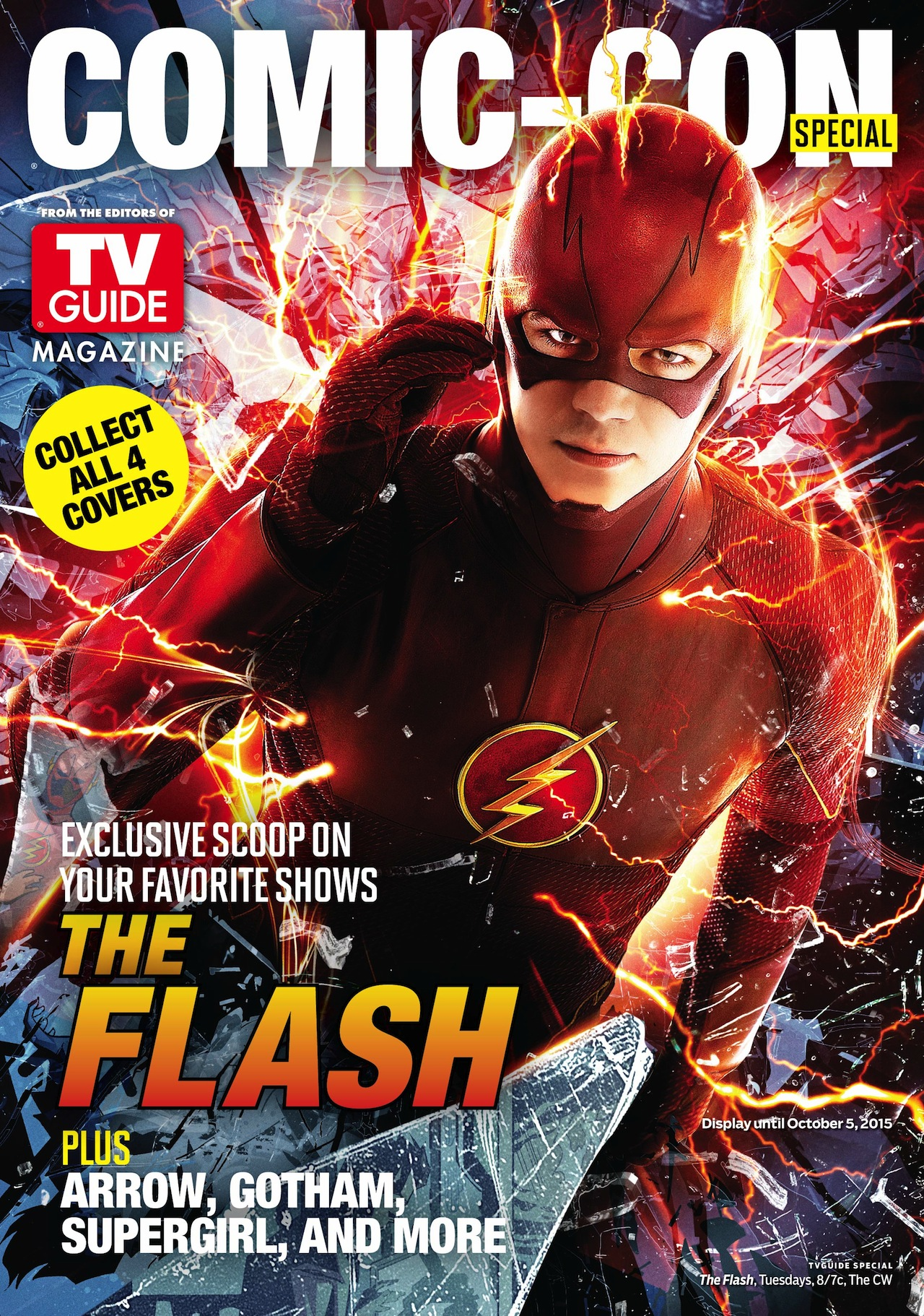 The Flash: la copertina di TV Guide per il Comic-Con 2015