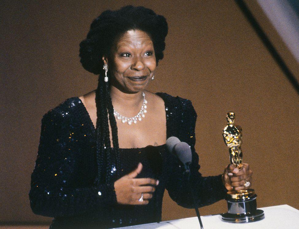 Whoopi Goldberg e l'Oscar vinto per Ghost - Fantasma