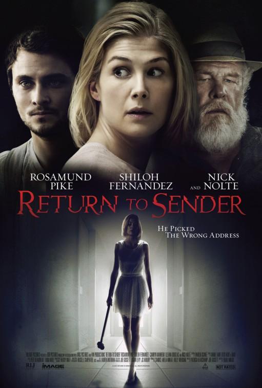 Return to Sender: il poster ufficiale