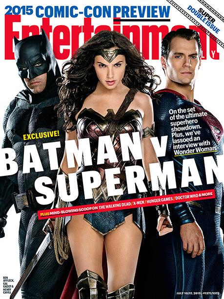 Batman v Superman: Dawn of Justice - la copertina dedicata al film da Entertainment Weekly