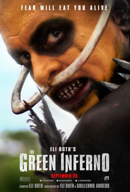 The Green Inferno: nuova inquietante locandina