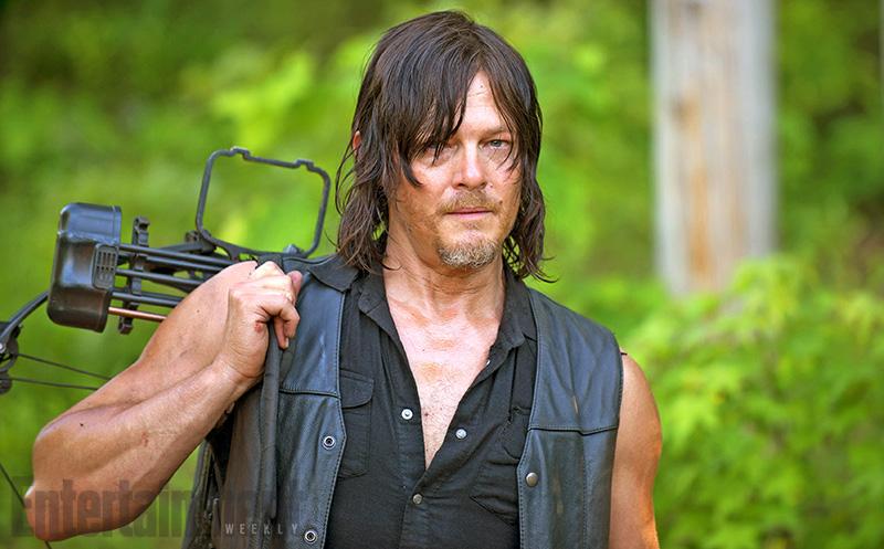 The Walking Dead: Norman Reedus nella prima foto della sesta stagione
