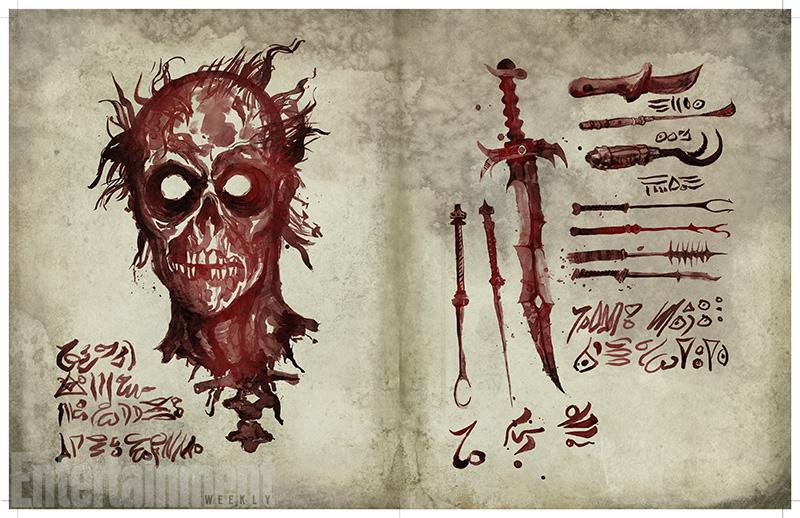 Ash vs. Evil Dead mostra il suo Libro dei Morti