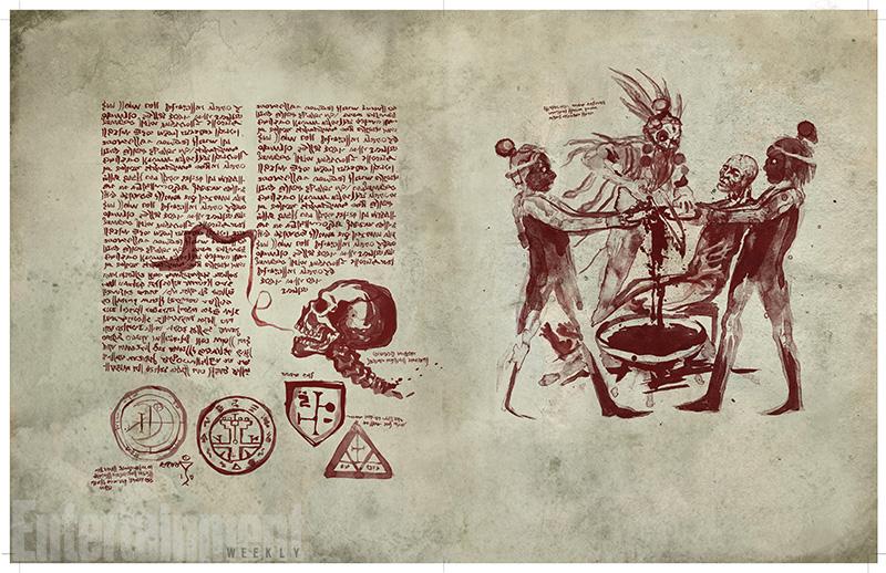 Ash vs. Evil Dead - Un'immagine del Libro dei Morti