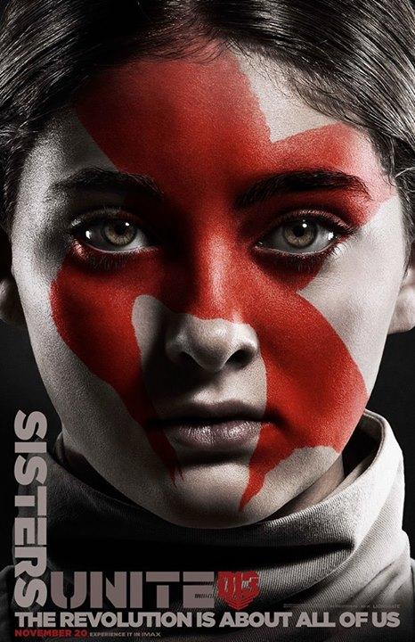Hunger Games: il canto della rivolta - Parte 2: il character poster di Primrose
