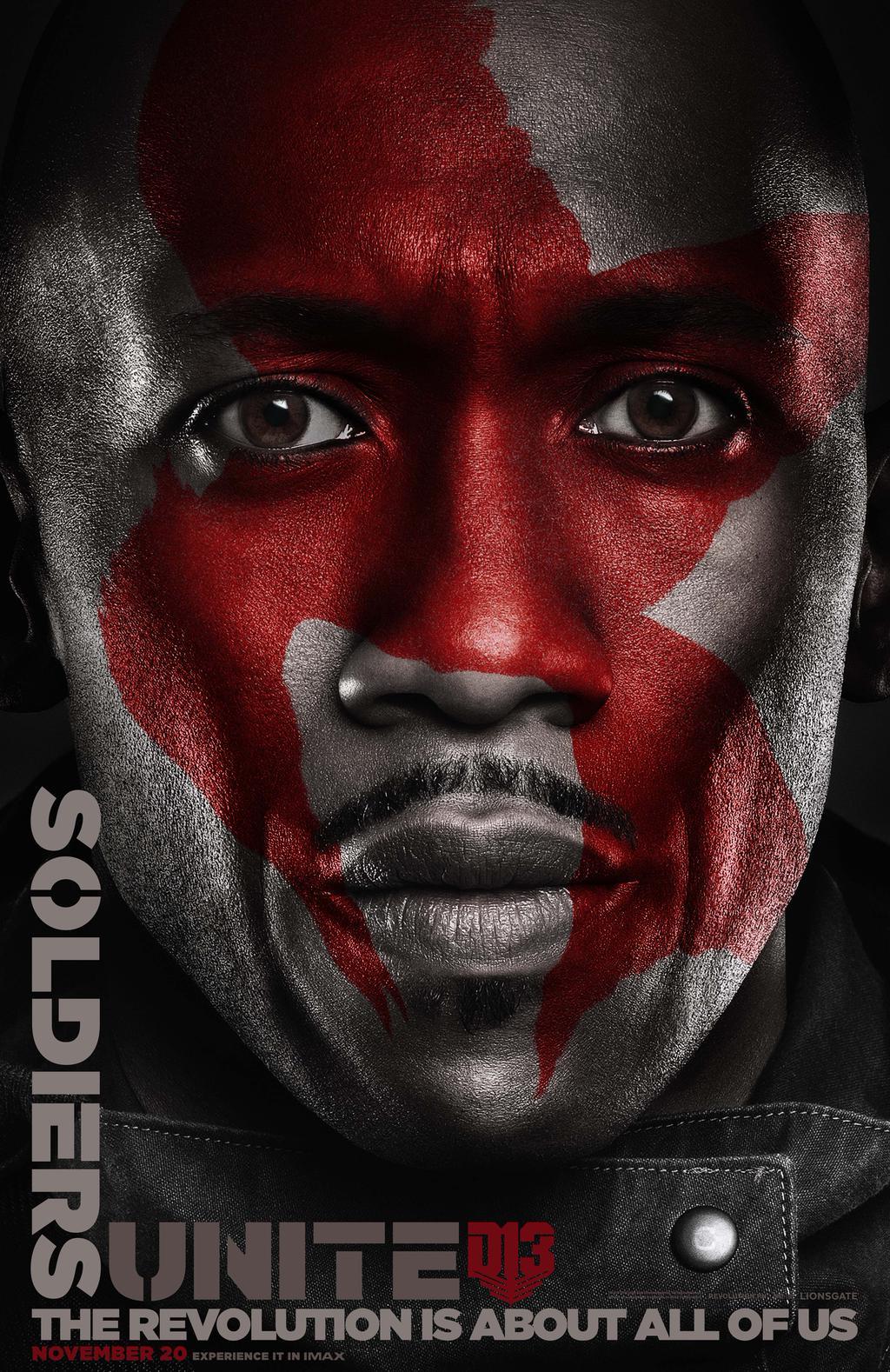 Hunger Games: il canto della rivolta - Parte 2: il character poster di Boggs