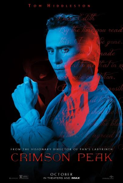Crimson Peak: il poster dedicato a Tom Hiddleston realizzato per il Comic-Con