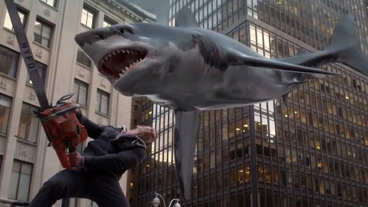 Sharknado - una scena del film