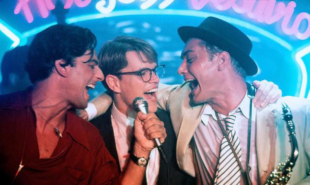 Il talento di Mr. Ripley: Fiorello con Jude Law e Matt Damon