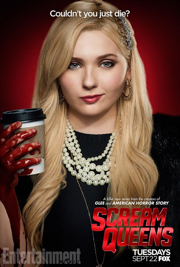 Scream Queens: il character poster di Abigail Breslin