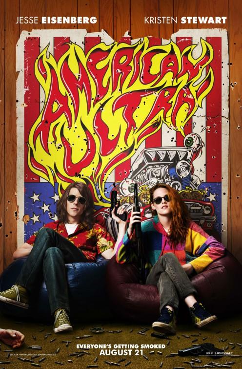 American Ultra: la locandina ufficiale del film