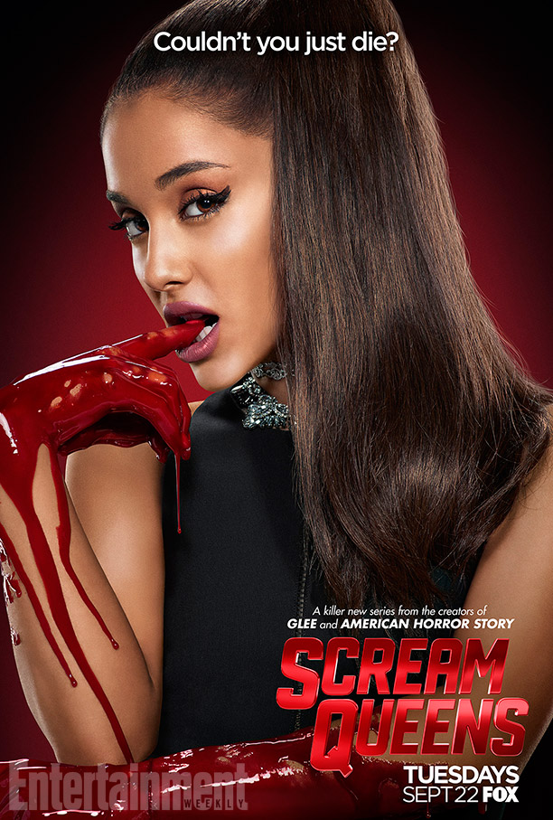Scream Queens: il character poster di Ariana Grande