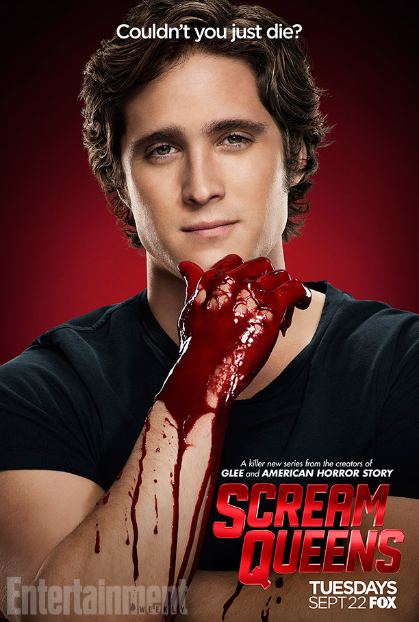 Scream Queens: il character poster di Diego Boneta