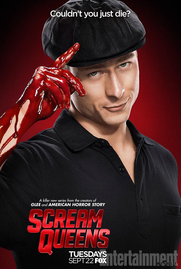 Scream Queens: il character poster di Glen Powell