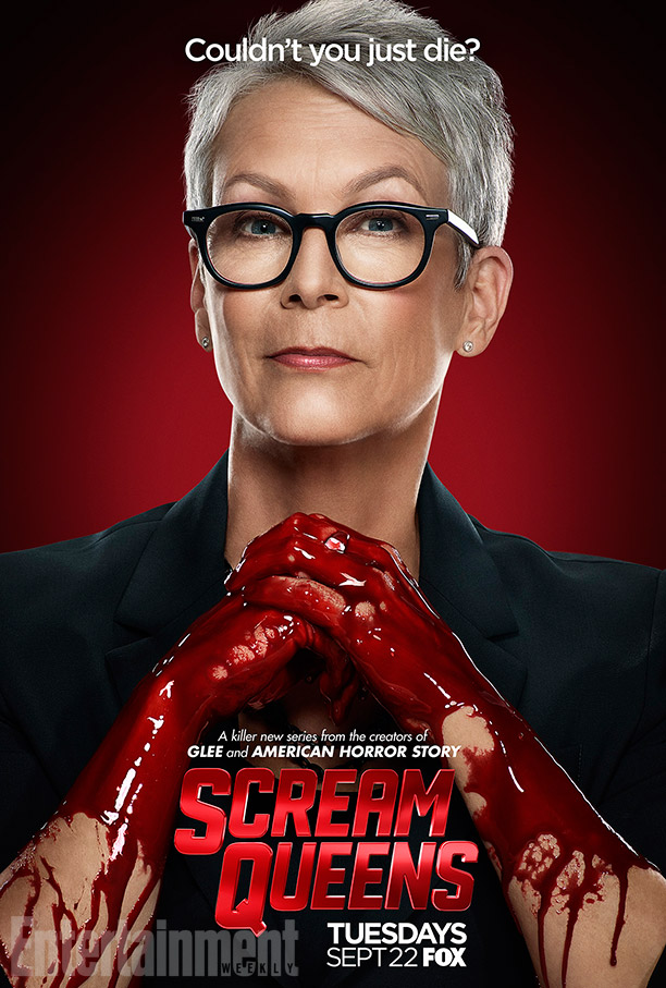Scream Queens: il character poster di Jamie Lee Curtis