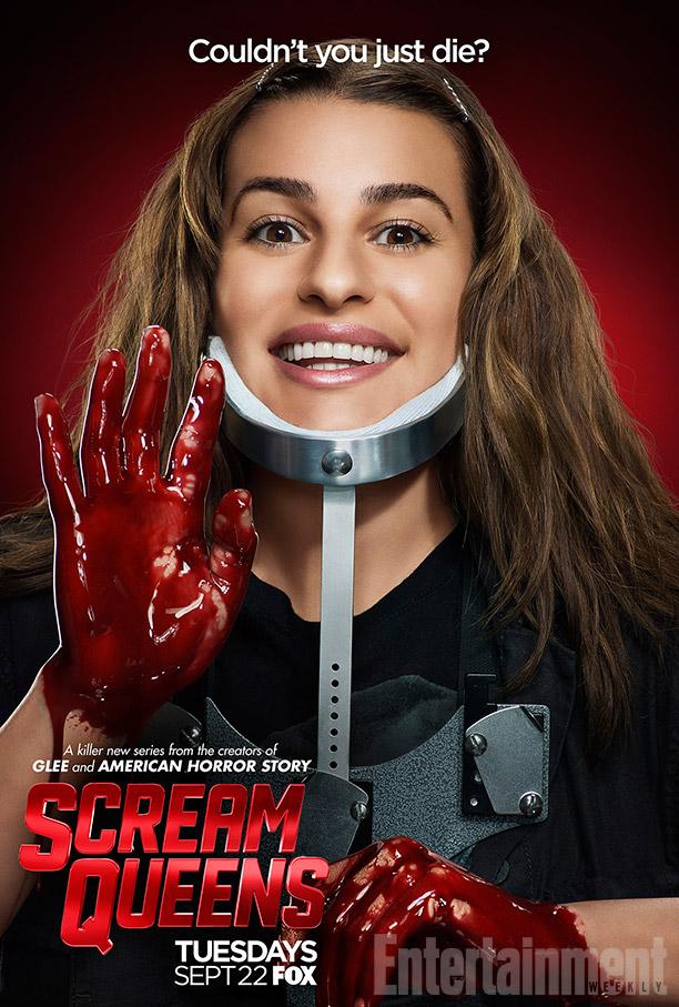 Scream Queens: il character poster di Lea Michele